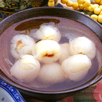 How to cook lychee