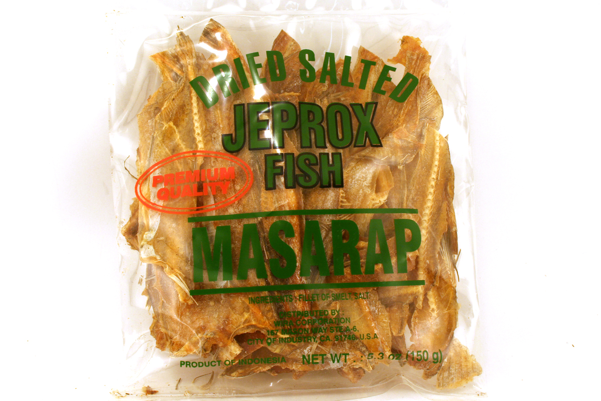 Dried Salted Jeprox Fish (Fillet of Smelt Fish) - 5.3oz's Gallery