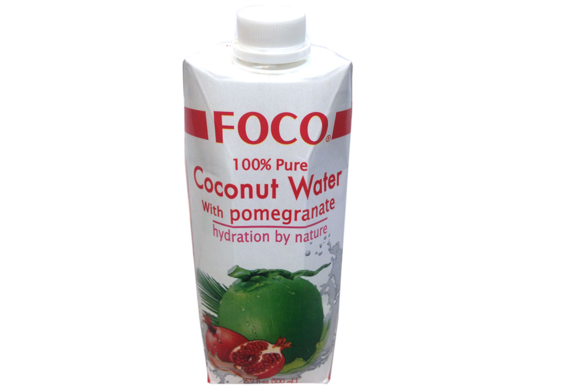 Percent Natural Coconut Water