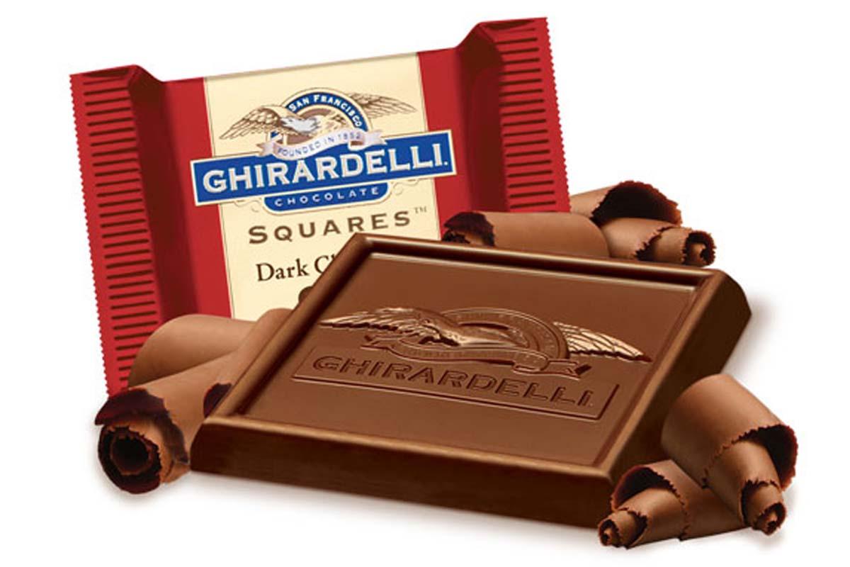 Ghirardelli Chocolate Square - Pumpkin Chocolate Chip Cookies