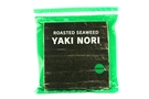 Buy Yaki Nori Green Label (Roasted Seaweed/ Gold Half Cut / 50-ct) - 3.75oz