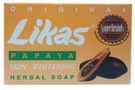 Buy Likas Papaya Skin Whitening Herbal Soap (Original) - 4.76oz