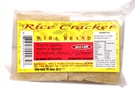 Krupuk Beras / Gendar (Rice Crackers Garlic Flavor) - 4.25oz [ 6 units]