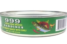 Buy Three Nine Sardines in Tomato Sauce with Chili - 7oz