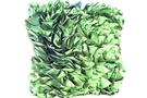 Green Ruffle Cushion (Green 12 x 16 x 5) [ 4 units]