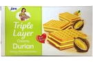 Triple Layers Crackers (Durian Cream Flavor) - 5.7oz