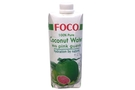 Coconut Water with Pink Guava (All Natural 100% Pure) - 16.9fl oz