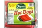 Buy Tropics Hot Dog Reguler - 12oz