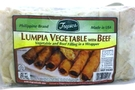 Buy Tropics Lumpia Vegetable with Beef - 18oz