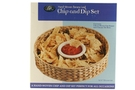 Buy EPC Chip and Dip Set (Woven Banana Leaf with ceramic Dip Bowl) - 14.6 inch Diameter