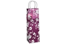 Buy Oriental Rose Single Bottle Gift Bag - Purple