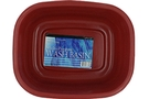 Buy Rectangular Wash Basin (Red)