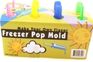 Freezer Pop Mold - 8 Slotted Frozen Popsicle Mold