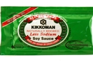 Buy Kikkoman Naturally Brewed Soy Sauce (Less Sodium) - 0.18oz
