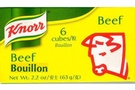 Buy Knorr Beef Bouillon (6 Extra Large Cubes) - 2.33oz