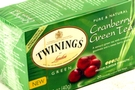 Buy Twinings Green Tea (with Cranberry) - 1.41oz