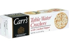 Table Water Crackers with Cracked Pepper - 4.25oz