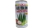 Buy FOCO Aloe Vera Drink Lychee (Lychee Flavour Bebida De Aloe Vera) - 11.8 fl oz