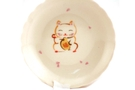 Buy Lucky Cat Plate (Small) - 10.5cm