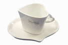 Buy Mini Cup & Saucer Set (Porcelain, Heart) - 7cm