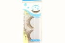 False Eyelashes (Cross Black  /10 cm long) - 1 Set