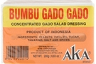Buy Bumbu Gado Gado (Salad Dressing) - 7oz