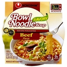 Instant Noodle Soup Bowl  (Beef & Ginger) - 3.03oz [6 units]