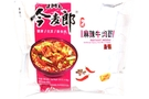 Instant Noodle (Artificial Spicy Hot Beef Flavor) - 4.13oz [15 units]