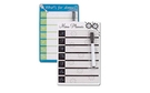 Buy GS Magnetic Dry Erase Menu Planner with Marker