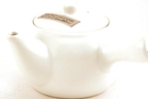 Buy Mano Tableware Japanese Style Ceramic Tea Pot (White) with vertical handle - 50 mm