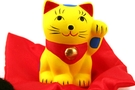 Buy Maneki Neko (Lucky Fortune Cat with Matts Figurine) - 2 in Height