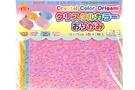 Crystal Color Origami  (15 cm x 15 cm)