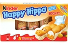 Buy Kinder Happy Hippo Biscuits (Hazelnut Cream - 5 stick) - 3.65oz