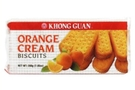Buy Khong Guan Biscuits (Orange Cream Flavoured)  - 7.05oz