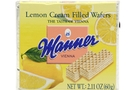 Buy Manner Cream Filled Wafers (Lemon) - 2.1oz