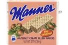 Buy Manner Cream Filled Wafers (Hazelnut) - 2.1oz