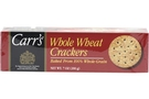 Buy Carrs Whole Wheat Crackers - 7oz