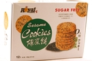 Buy Sesame Cookies (Sugar Free / 12-ct) - 4.2oz