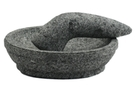 Buy TJ Large Mortar & Pestle Set (Cobek) - 24cm