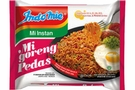 Mi Goreng Pedas (Instant Hot Fried Noodles) -2.82oz [15 units]