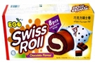 Swiss Roll (Chocoalte Flavor/8-ct) - 6.2oz