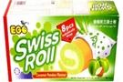 Swiss Roll (Coconut Pandan/8-ct) - 6.2oz [3 units]