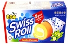 Swiss Roll (Vanilla Flavor/8-ct) - 6.2oz