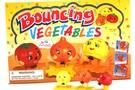Bouncing Vegetable Toys - 24 pcs