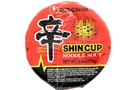 Shin Cup Noodle Soup (Gourmet Spicy) - 2.64oz [24 units]