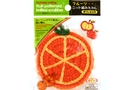Buy Fruit Patterned Knitted Scrubber (Orange)