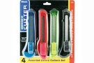 Buy Bazic Assorted 6 inch Multipurpose Cutter (4/Pack)
