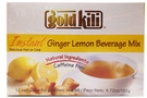 Ginger Lemon Drink Instant  (All Natural  / 12-count) - 6.72oz [6 units]