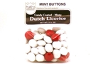 Dutch Licorice Candy Coated - Minty (Mint Buttons) - 3.5oz