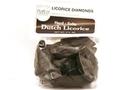 Dutch Licorice Hard & Salty (Licorice Diamonds) - 3.5oz